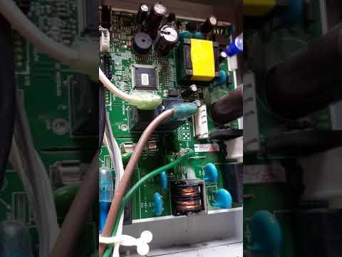 Hitachi split ac pcb board fault compressor doesnt get off even turn on