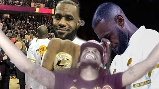 PROUDEST MOMENT OF MY LIFE! WHY THE CAVALIERS WILL WIN THE 2017 NBA CHAMPIONSHIP REACTION!!