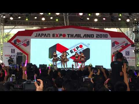 Flying Get / Jie Kou Maybe (言い訳Maybe) - AKB48 in Japan Expo Thailand 2018