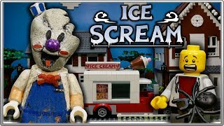 LEGO Мультфильм Мороженщик - Horror Game Ice Scream