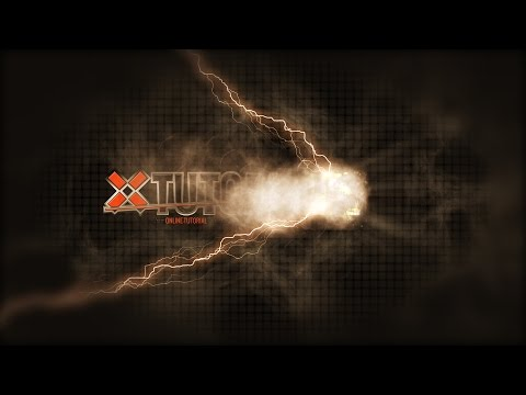 TUTORIAL || Aftereffects Particular Smoke | Metallic Text Titel Animation | Intro ANimation