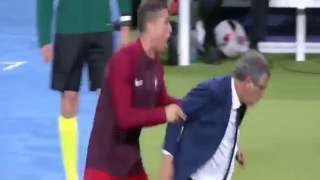 реакция Роналду на гол Эдера #3