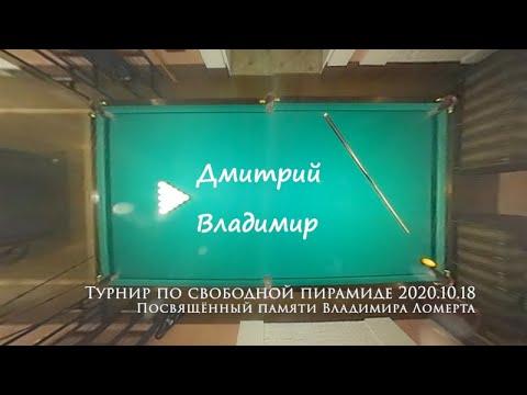 Свободная пирамида - партия между Дмитрием и Владимиром