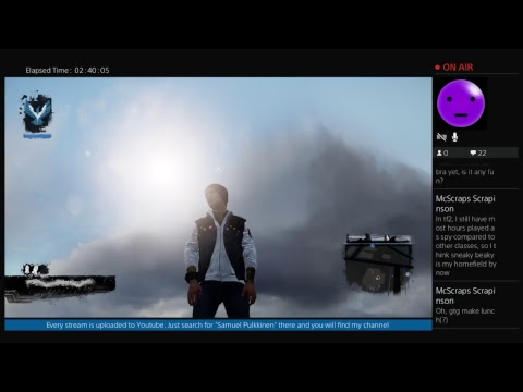 Infamous Second Son - #6 The Curtain Falls - Sugartooth0's Live PS4 Broadcast