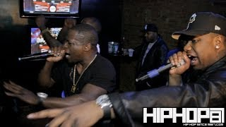 "Black Deniro & Murda Mook Performs ""You Ain"