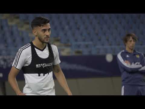 #SelecciónMayor Último entrenamiento en Arabia antes de partiar a Tel Aviv ¡Vamos Argentina!