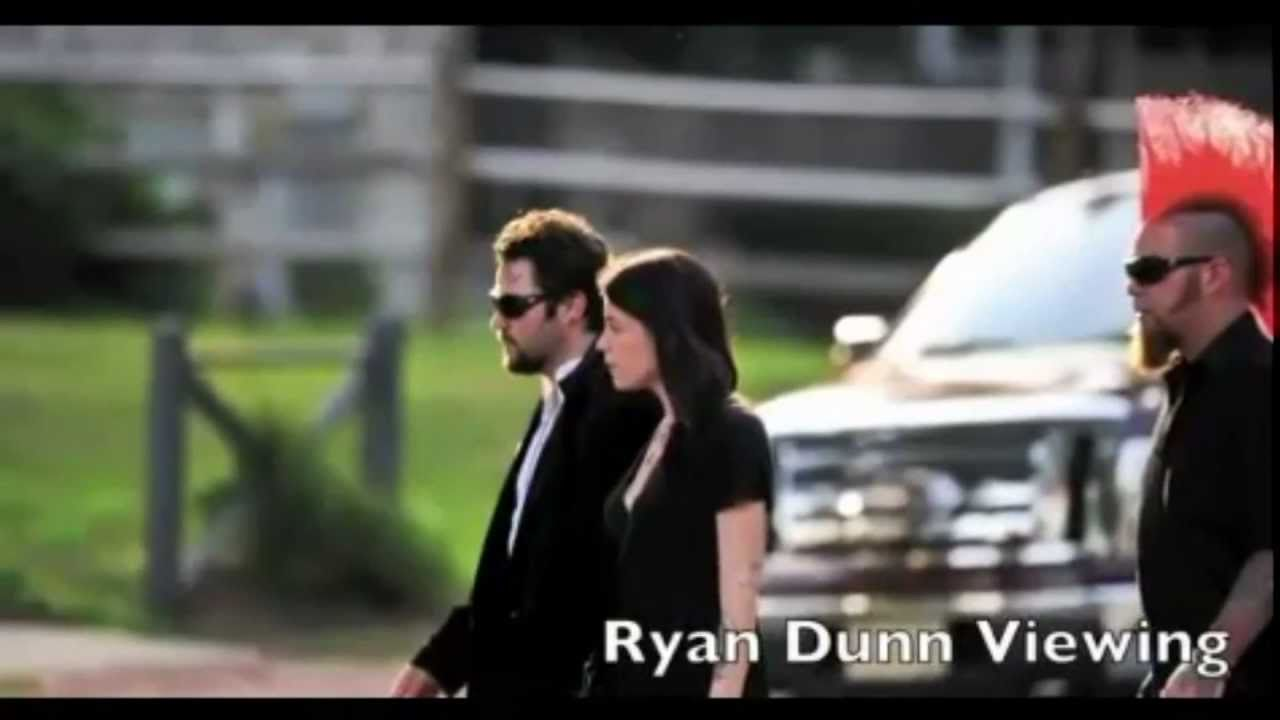 Ryan Dunn Death Documents Funeralviewing Youtube