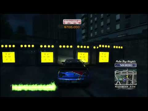 Burnout Paradise All 50 gate smashes in Palm Bay Heights