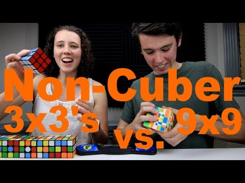 How Many 3x3's can my Friends Solve While I Solve a 9x9?