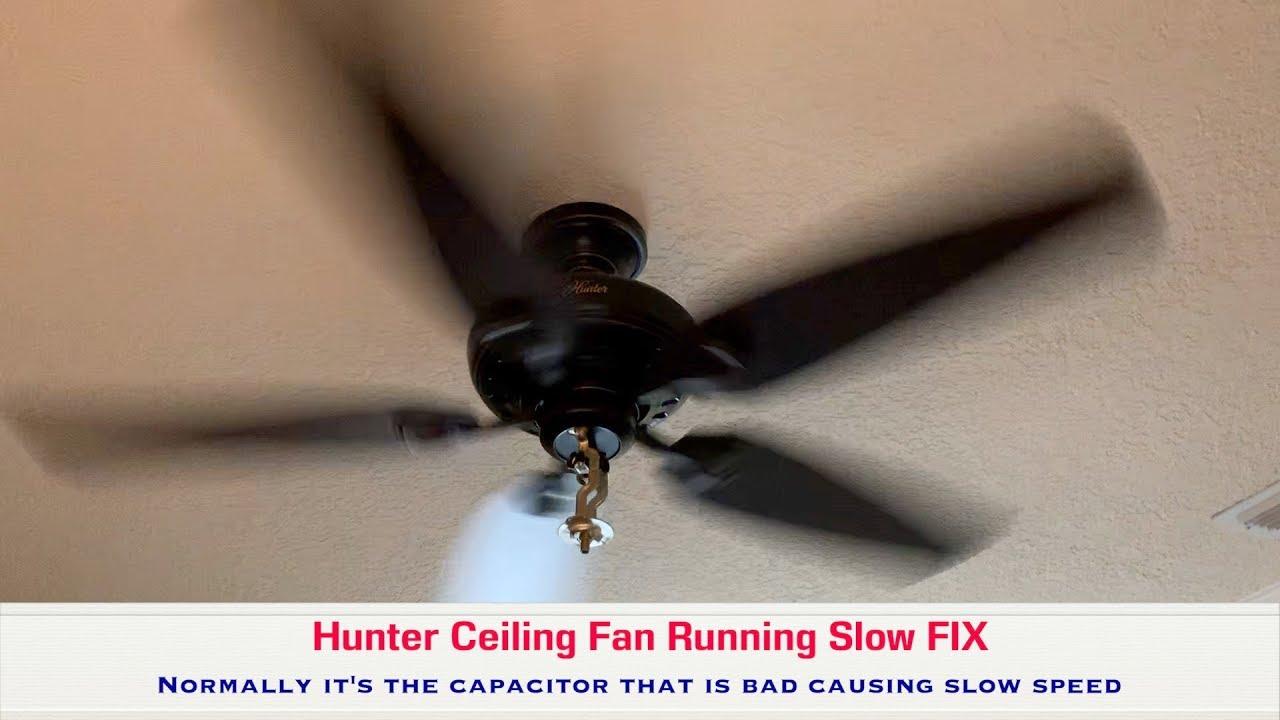Slow Ceiling Fan Sd Easy Diy Fix