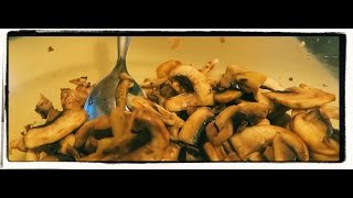 Raw Marinated Mushrooms That Taste Fried! Simple Raw Vegan Recipe.