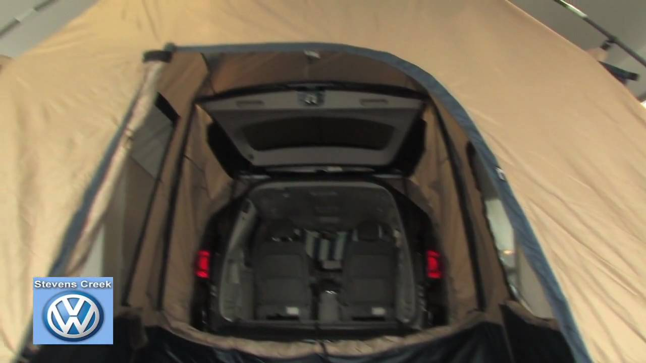 Sportz® SUV Tent for the VW Touareg and Routan at Stevens Creek Volkswagen - YouTube