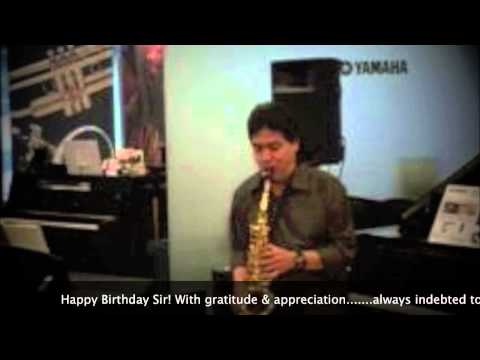 Aa Bhi Jaa | SUR | Lucky Ali & Sunidhi Chauhan |Saxophone Cover | Stanley Samuel | Singapore | India
