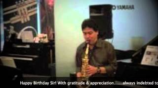 Aa Bhi Jaa | SUR | Lucky Ali & Sunidhi Chauhan |Saxophone Cover | Stanley Samuel | Singapore | India
