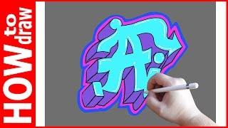 Как нарисовать граффити буквы, А № 1(INSTAGRAM: https://www.instagram.com/dmitrysyrman/ Я в ВКОНТАКТЕ: http://vk.com/syrman_d Группа в ВКОНТАКТЕ: http://vk.com/public59608073 I'm on ..., 2016-09-22T02:13:31.000Z)