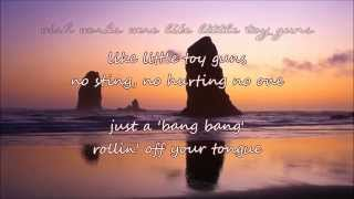Carrie Underwood - Little Toy Guns (with lyrics)