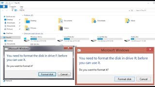 "How to Repair Corrupted SD Memory Card ""You Need to format the disk"""