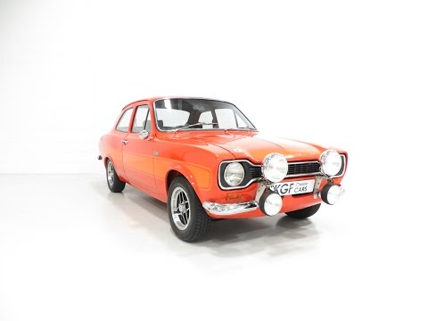 A Genuine, Very Rare AVO Mk1 Ford Escort RS2000 with Press Vehicle Provenance. SOLD!