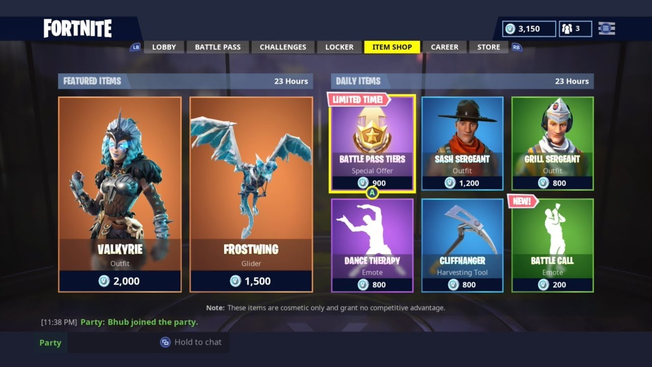 GRILL SERGEANT AND NEW EMOTE! | DAILY ITEM SHOP TODAY ...