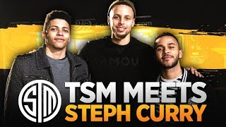 TSM Meets Steph Curry