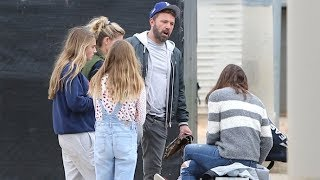 Jennifer Garner Completely IGNORES Ben Affleck At Samuel's Baseball Game - EXCLUSIVE