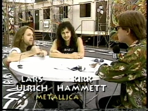Metallica - MTV's Live at Day on the Green Report (1991) [Full TV Broadcast]