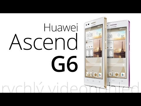 Huawei Ascend G6 (LTE) (rychlý videopohled)