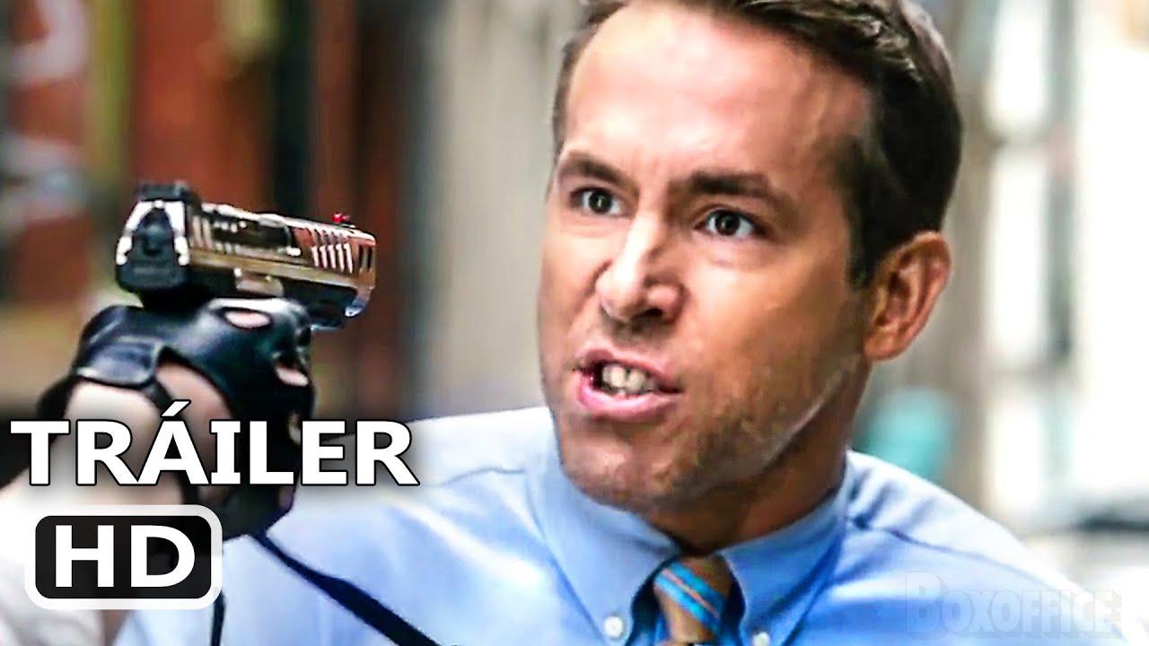 FREE GUY Último Tráiler Español DOBLADO (Nuevo, 2021) Ryan Reynolds
