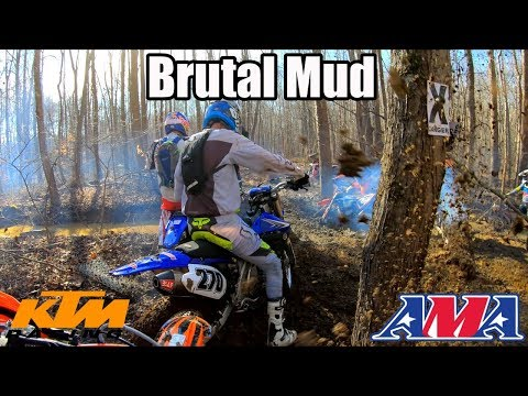 WHAT A BRUTAL RACE! - 2019 Hangover Hare Scramble KTM 300 EXC