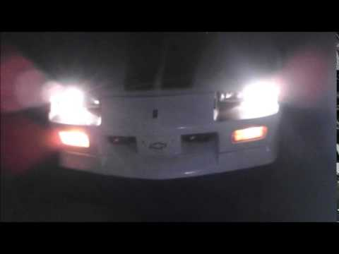 1992 Camaro Turn Signal issue - YouTube