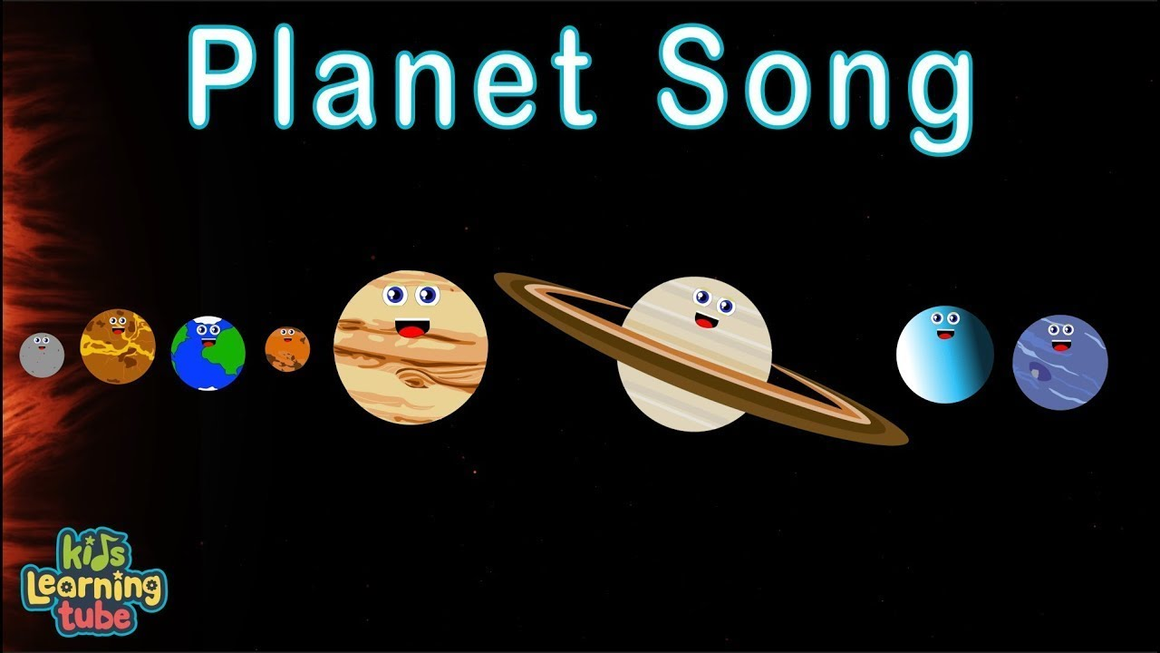 Planet Song for Song/Solar System Song - YouTube