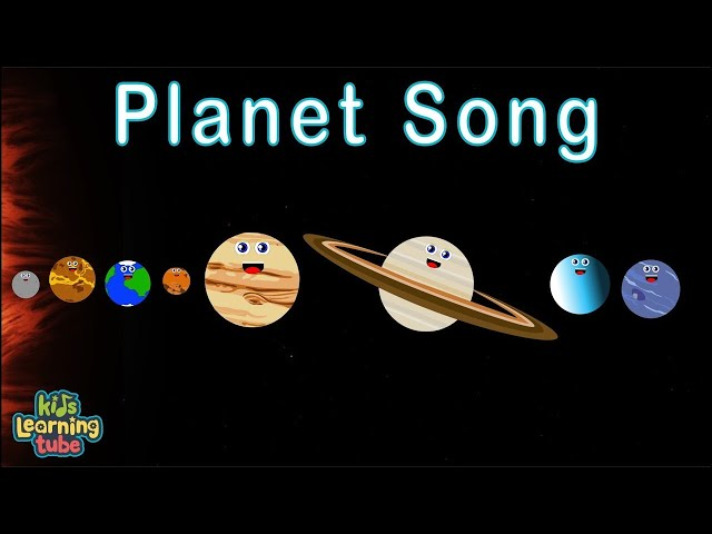 Solar System / Solar System Song  / Planets Song for Kids / 8 Planets