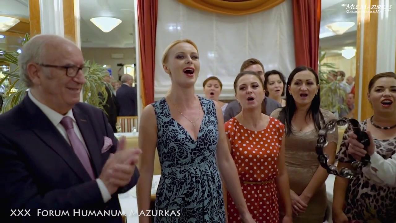 """XXX FORUM HUMANUM MAZURKAS-Narodowy Chór Ukrainy im.G.G.Wierowki""""Przemówienie A.Bartkowskiego"""