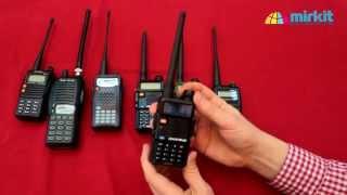 видео Обзор портативных радиостанций Kenwood