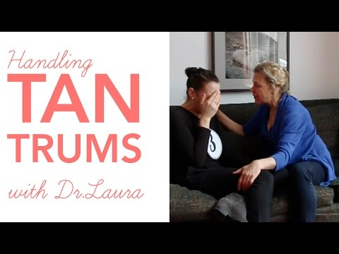 LoveParenting: Dr Laura Markham Handles a Tantrum (role play!)