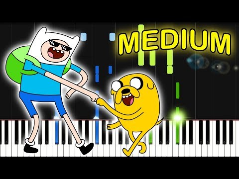 ADVENTURE TIME ENDING THEME  Piano Tutorial