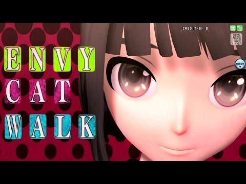 [60fps Full] Envy Catwalk エンヴィキャットウォーク - Hatsune Miku 初音ミク Project DIVA Arcade English Romaji PDA FT