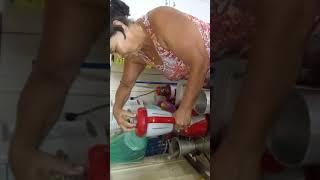 Sabão de barra No liquidificador, fácil e rápido.