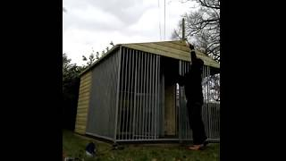 How To Build A Big Dog Kennel!