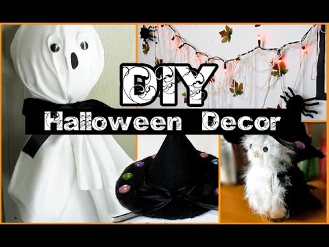 Diy halloween decorations styloween youtube - Deco halloween diy ...