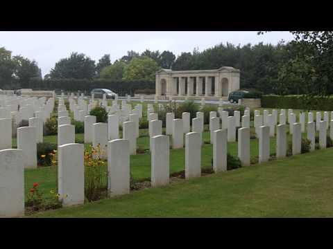Bayeux War Cemetery, Bayeux, France.