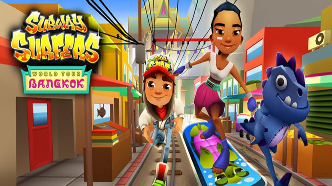 subway surfers bangkok sony xperia z2 gameplay youtube