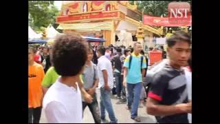Songkran festival in Penang