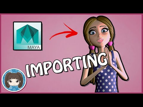 How to Import a Model or Rig Into Maya (& Load Its Textures!)