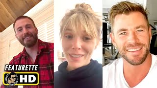 Marvel Actors in Quarantine #2 [HD] Chris Evans, Elizabeth Olsen, Chris Hemsworth