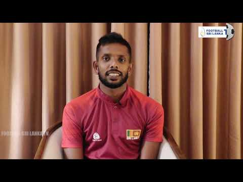 Sujan Perera thanking the fans and the media for the support rendered to the Golden Army.