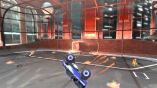Supersonic Acrobatic Rocket-Powered Battle-Cars Gameplay Trailer