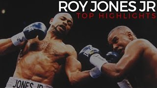 Roy Jones Jr Highlights