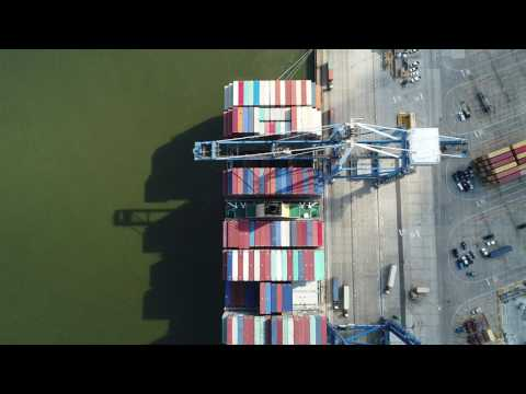 Largest ship to visit the US East Coast and Port of Charleston