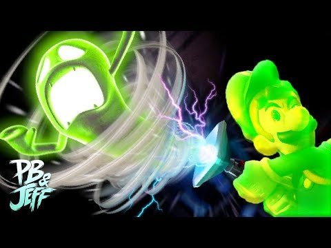 JEFF THE GHOST THIEF - Luigi's Mansion 3DS Co-Op (Part 4)